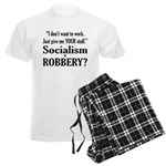 Socialism Robbery Men's Light Pajamas