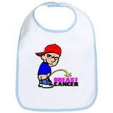 Take No Prisoners Breast Canc Bib