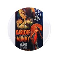 "The Mummy 3.5"" Button"