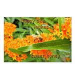 Happy bee Postcards (Package of 8)
