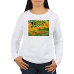 Happy bee Women's Long Sleeve T-Shirt
