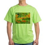 Happy bee Green T-Shirt