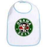 Obama 2012 Election Commemorative Bib