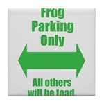 Frog Parking Tile Coaster