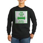Frog Parking Long Sleeve Dark T-Shirt