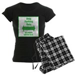 Frog Parking Women's Dark Pajamas