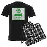 Frog Parking Men's Dark Pajamas