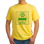 Frog Parking Yellow T-Shirt