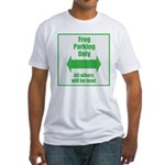 Frog Parking Fitted T-Shirt