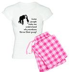 Monkey Poop Women's Light Pajamas
