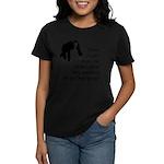 Monkey Poop Women's Dark T-Shirt