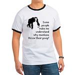 Monkey Poop Ringer T