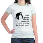Monkey Poop Jr. Ringer T-Shirt