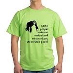 Monkey Poop Green T-Shirt