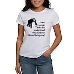 Monkey Poop Women's T-Shirt