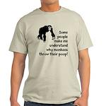 Monkey Poop Light T-Shirt
