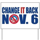 Anti Obama 2012 Yard Sign