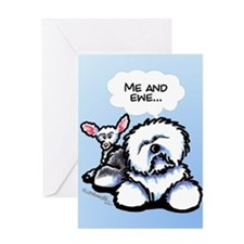 Me and Ewe Funny OES Greeting Card
