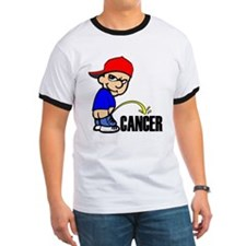 Piss On Cancer -- Cancer Awareness T
