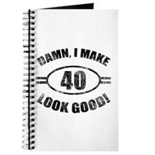 Damn Funny 40th Birthday Journal
