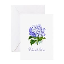 Hydrangea Thank You Greeting Card