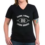 Damn Funny 80th Birthday Shirt