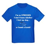 I'm So Stressed Kids Dark T-Shirt