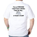 I'm So Stressed Golf Shirt