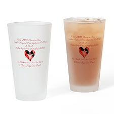 CRPS RSD I Choose Hope Over P Drinking Glass