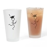 Graduate Runner Drinking Glass