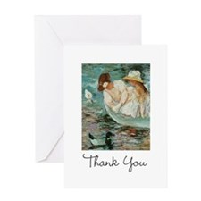 Mary Cassatt Thank You Greeting Card