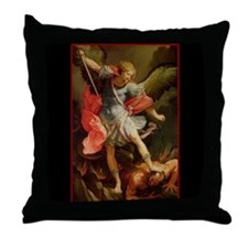 St. Michael - Throw Pillow