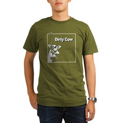 Dirty Cow Organic Men's T-Shirt (dark)