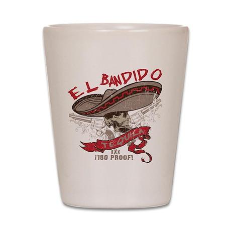 El Bandido Tequila Shot Glass