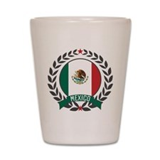 Mexico Wreath Shot Glass
