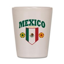 Mexico Soccer Shot Glass