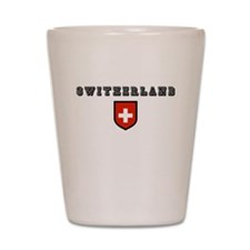 Cute Switzerland Shot Glass