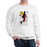 Unique Suprematism Sweatshirt