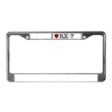 Funny Rotary License Plate Frame