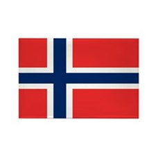 Flag of Norway Rectangle Magnet (10 pack)