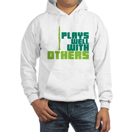 Clarinet (Plays Well With Others) Hooded Sweatshir