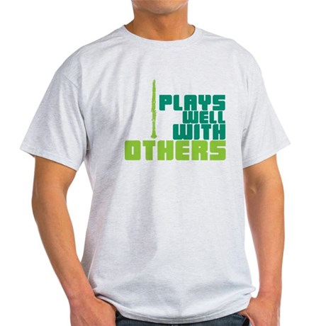 Clarinet (Plays Well With Others) Light T-Shirt