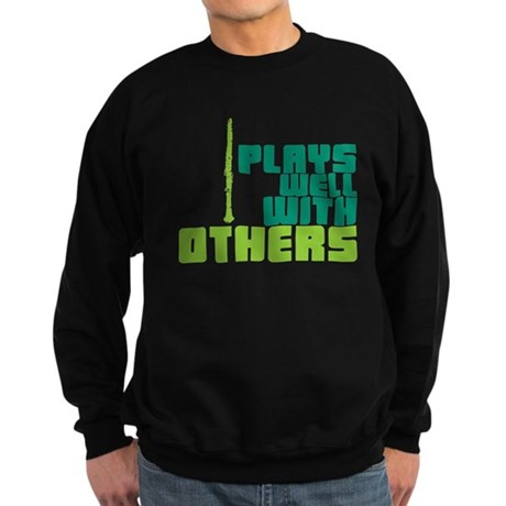 Clarinet (Plays Well With Others) Sweatshirt (dark