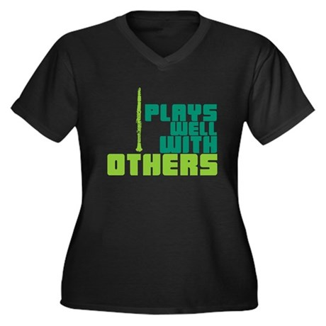 Clarinet (Plays Well With Others) Women's Plus Siz