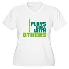 Clarinet (Plays Well With Others) T-Shirt