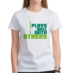 Clarinet (Plays Well With Others) Women's T-Shirt