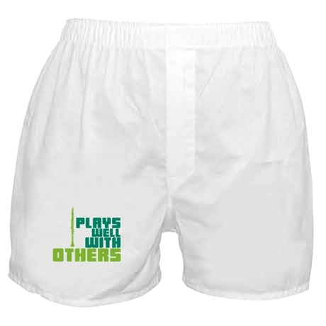 Clarinet (Plays Well With Others) Boxer Shorts