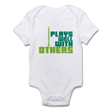 Clarinet (Plays Well With Others) Infant Bodysuit