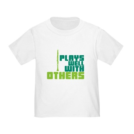 Clarinet (Plays Well With Others) Toddler T-Shirt