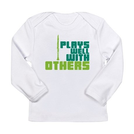 Clarinet (Plays Well With Others) Long Sleeve Infa